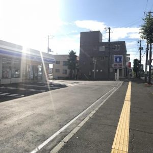 札幌市の鍼灸院への道順・ローソンを目印に