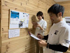 鍼灸師札幌の二人。
